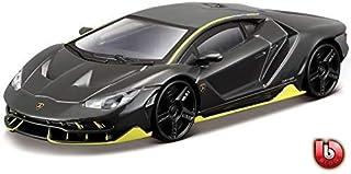 "Bburago 1/43 Street Fire (3.5"") Lamborghini Centenario Toy Car - Grey"
