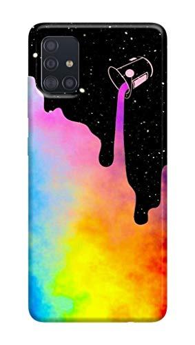 Cover Morbida in TPU Samsun.g Galaxy A51 060 Rainbow, Arcobaleno, Color, Stars, Tumblr