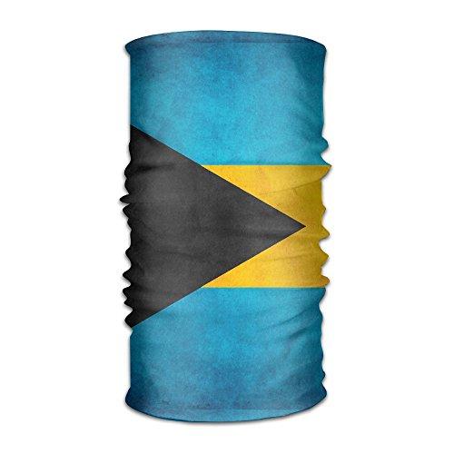 Retro Style Bahamian Honourable Flag Headband Bandana,Outdoor Headwear,Magic Scarf