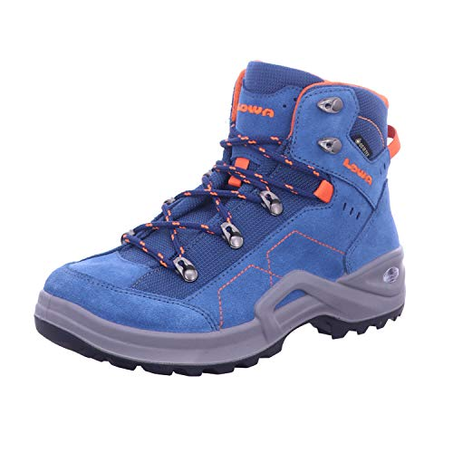 Lowa 350099 6021 Kody III GTX MID JUNIOR BLAU/ORANGE Größe 39 EU Blau (BLAU/ORANGE)