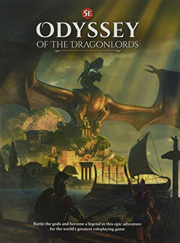 Modiphius Entertainment Odyssey of The Dragonlords Role Playing Game Book (MUH051946)