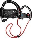 [Upgraded 2020] Sport Bluetooth Headphones w/12+ Hours Battery -...