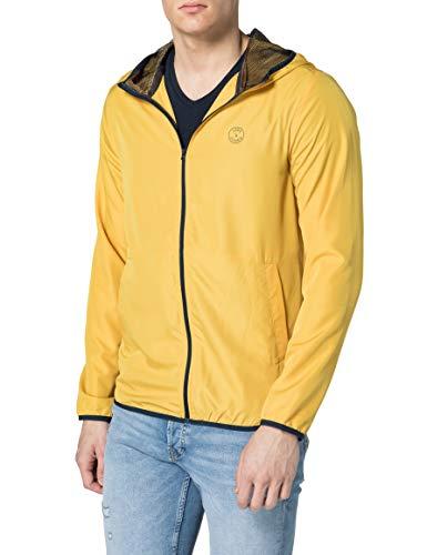 Jack & Jones JJVIBES Light Jacket Chaqueta, Yolk Yellow, L para Hombre