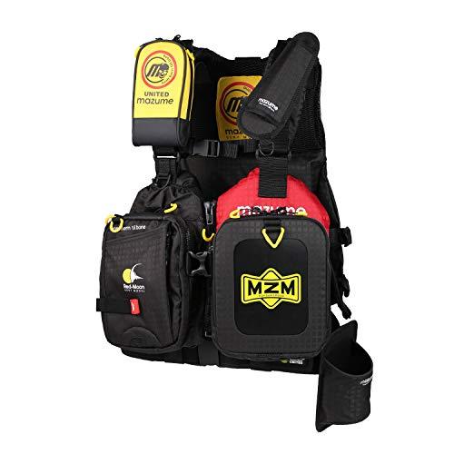マズメ(MAZUME) レッドムーンライフジャケット サーフスペシャルII MZLJ-444-01 ブラック