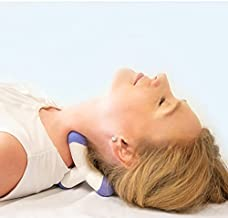 Cervical Neck Traction Device and Trigger Point Massager, Fast Neck Pain Relief, Uses Deep Massage and Traction Together for Amazing Results, Patent Pending, New Instructions