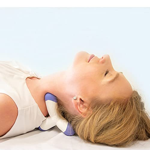 Cervical Neck Traction Device and Trigger Point Massager, Fast Neck Pain Relief, Uses Deep Massage...