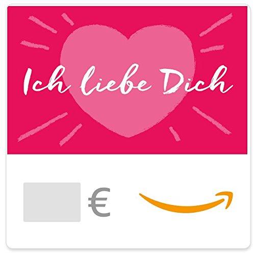 Digitaler Amazon.de Gutschein (Ich liebe Dich)