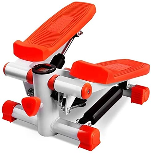 Mini Stepper Fitness Elíptico Banda de Resistencia Ajustable Pantalla LED Se puede utilizar para ejercicios en los pies, piernas, abdomen, cintura y espalda