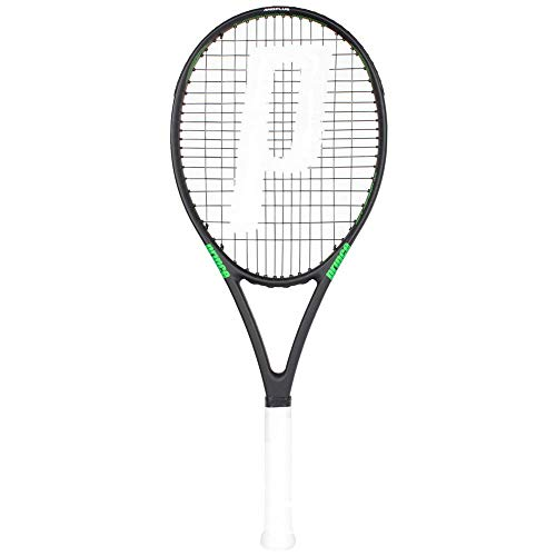 Prince Raqueta Hornet 100, Adultos Unisex, Multicolor (Black/Green), 2