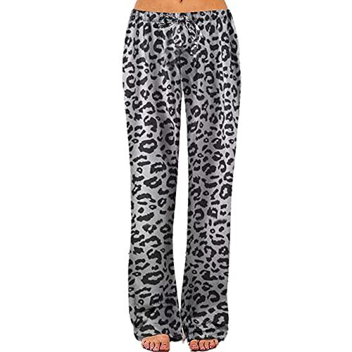 Pantalones Deportivos De Pierna Ancha De Yoga Impresos Sueltos para Mujer Pantalones Deportivos De Yoga para Mujer