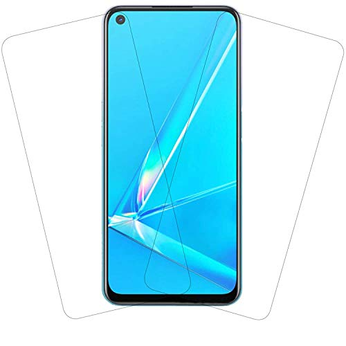 Zarala Full Coverage superzoom Glass 0.3mm Edge to Edge lite Tempered Glass For vivo y30 (2 piece)