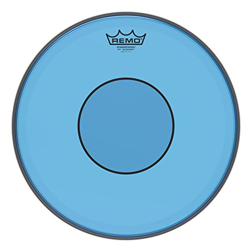Remo P7–0313-ct-bu Powerstroke TPR 77colortone blau Scruggs, 33cm