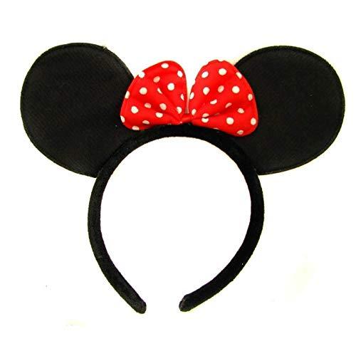 Be-Creative Conjunto de accesorios para disfraz de ratn, diseo de mueco de Minnie Mouse