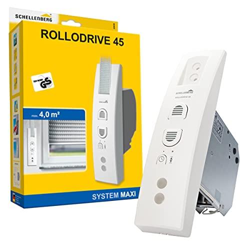 Schellenberg 22638 Recogedor eléctrico RolloDrive 45, hasta 4 m² de Superficie de...