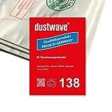dustwave Megapack - 20 bolsas para aspiradora Numatic - HVR200-12