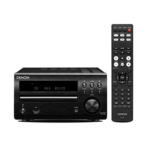 Denon RCD-M40 Receiver und CD-Player, schwarz