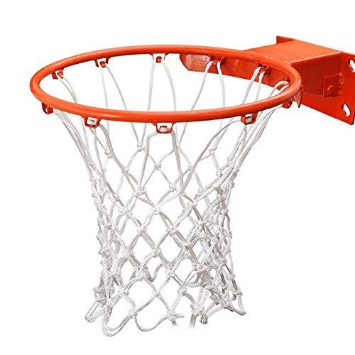 Estándar 2 unidades de servicio de baloncesto de servicio pesado Reemplazo de aro de baloncesto Neto Profesional Todo el tiempo Diseño interior o al aire libre de calidad gruesa fácil Instance Reempla
