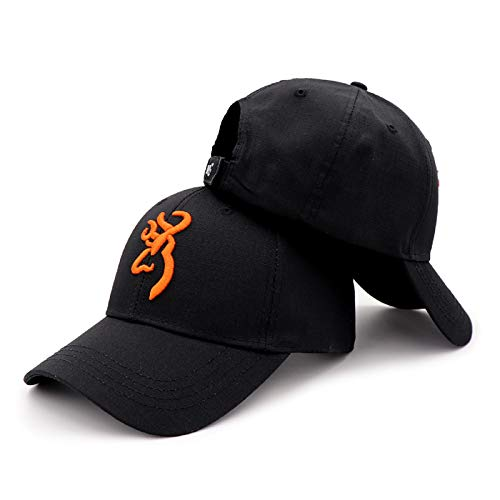QOHNK Sombrero de Camuflaje Browning al Aire Libre Gorra de béisbol Hombres...