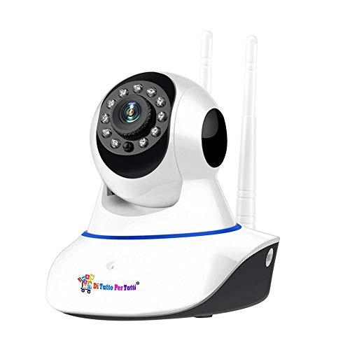 Di Tutto Per Tutti Ip Camera 2 Antenne   WIFI   LAN   SD   Motorizzata HD 720p Onvif Infrarossi Audio Bidirezionale Videosorveglianza App Yoosee