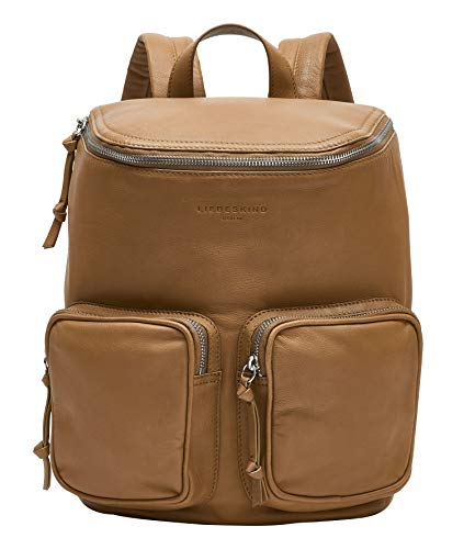 Liebeskind Berlin Tamora Backpack Rucksackhandtasche, Medium (32 cm x 26 cm x 14cm), pale honey