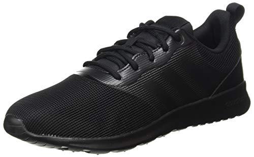 adidas Damen QT Racer 2.0 Sneaker, Negbás/Negbás/Onix, 44 EU