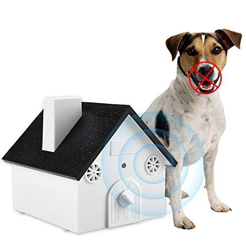 funfunfly Anti Bellen Gerät, Ultraschall Anti Bellen, Sonic Rinde Abschreckung, Rinde Kontrollgerät, Hund Rinde Contrl im Freien