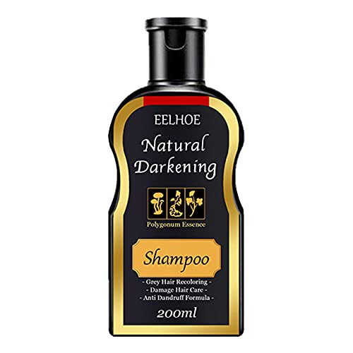 Polygonum Multiflorum Shampoo, 100 / 200ml Haargroei Shampoo Hydraterende Haar Donkering Shampoo Black Hair Care Shampoo Natural Hair Color Shampoo Voor Vrouwen Mannen Voorkomen Haarverlies