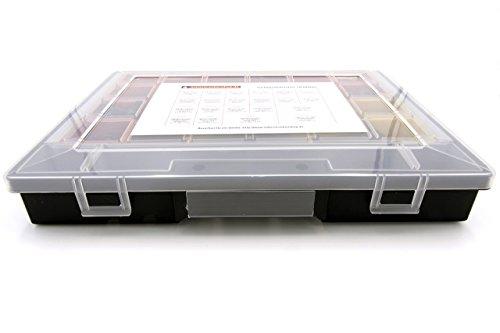Sortimentskasten Zollschrauben UNC, Zylinderschrauben, Innensechskantschlüssel Stahl