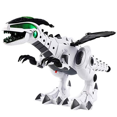 GARNECK Dinosaurio Robot a distancia Multifuncional con Nebulización para Niños Juguetes Electrónicos de Dinosaurio Pies Dinosaurio Dragón Híbrido Juguetes Regalo de Nochevieja para