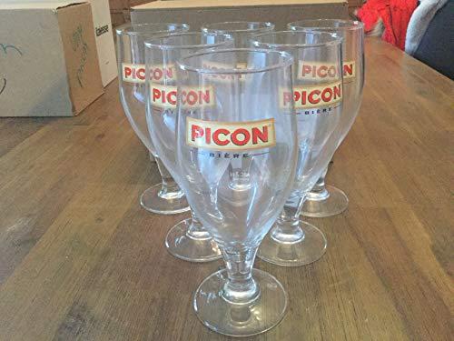 Picon Birra, 6 calici con Trattamento dosatore