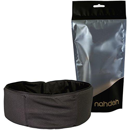 nahdeh bruisebelt–Protección para la Cadera para Voleibol, Baloncesto, fútbol y Otros Deportes de Contacto–Protector de Cadera Este es un fácil Cinta para el cinturón, Negro