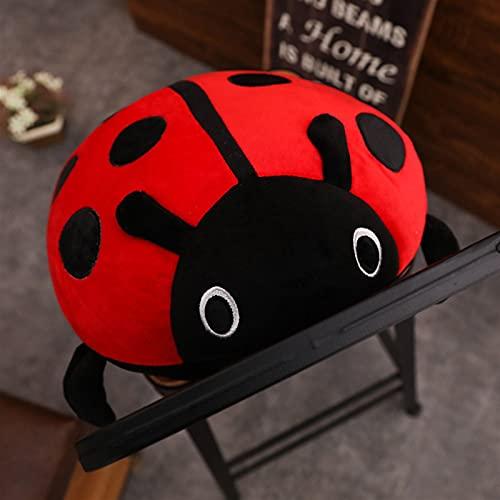YZGSBBX Süßes Plüschtier-Spielzeug Weiche Marienkäfer-Marienkäfer-Insekt-Hold-Puppe-Kissenkissen-Neuheit Kinder Geburtstagsgeschenk Plüschspielzeug (Height : 40cm)