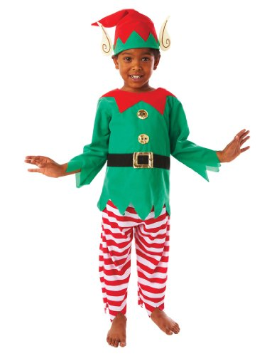 Christy`s - Disfraz de elfo para niño, talla M (995058)