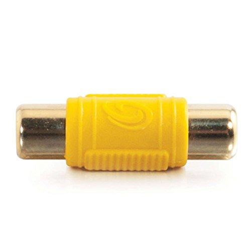 C2G 29507 RCA Video Coupler, Yellow