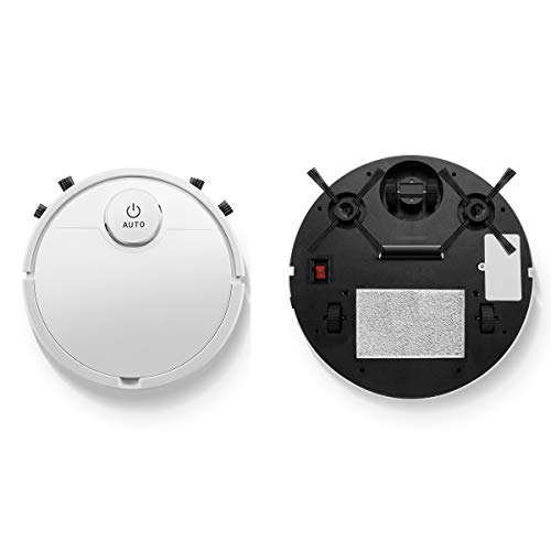 BSWL Robot Aspirador máquina de Limpieza táctil Inteligente para el hogar Perezoso Recargable húmedo y seco de Barrido y trapeado automático de Doble Uso y aspiradora Cuerpo Ultrafino Tres en uno