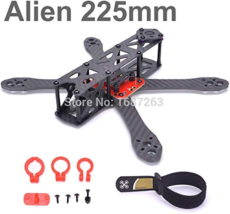 Laliva Alien FPV Quadcopter Pure Carbon Fiber 225 225mm DIY Cross Racing Mini Drone 4mm  1.5mm  2mm Better Than QAVX Martian II 220