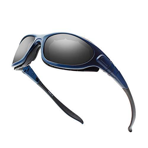 DUDUKING Sportbrille Polarisierte Sonnenbrille für Herren und Damen Skibrille Anti-Fog Snowboardbrille UV-Schutz Windschutz Radsportbrille Motorradbrille