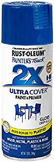 Rust-Oleum 249114 Painter's Touch 2X Ultra Cover, 12-Ounce, Deep Blue