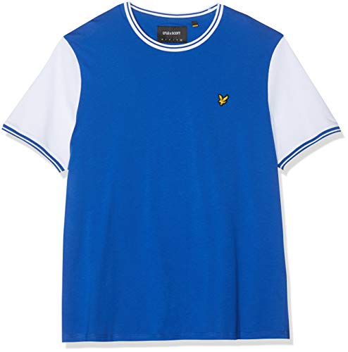 Lyle & Scott Tipped T-Shirt, Blu (Duke Blue/White Z585), XX-Large Uomo