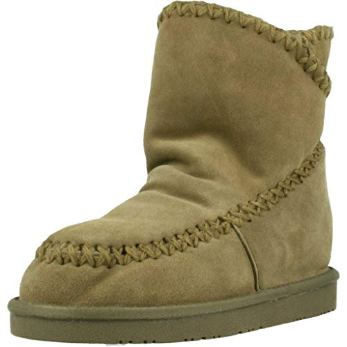 Gioseppo 42114, Botas Slouch para Mujer, Beige (Taupe), 39