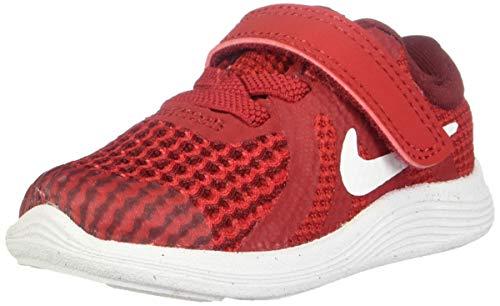 Nike Revolution 4 (TDV), Zapatillas de Gimnasia para Niños, Rojo (Gym Red/White/Team...