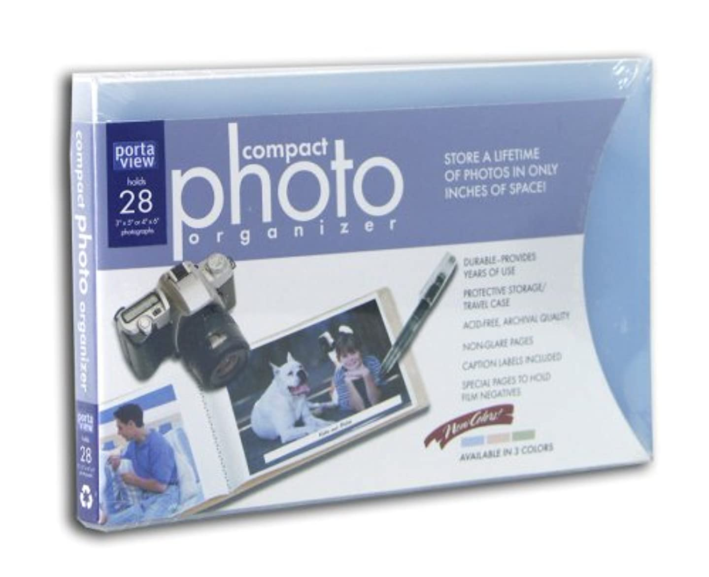 Portaview Compact Photo Organizer with Case 28 ct.