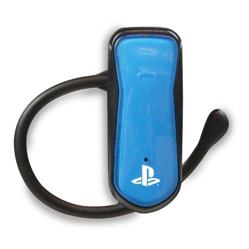 A4T Cuffia Bluetooth Blu PS3 con Microfono Incorporato