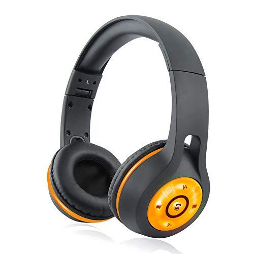 Dandan Wireless Gaming Headset Best Stereo Sound Headphones Folding Illuminated Bluetooth Headset PC Player