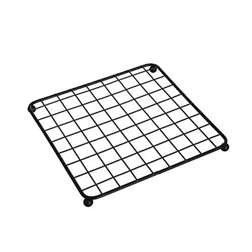 Home Gadgets Nappe, métallisée, Noir 17 cm