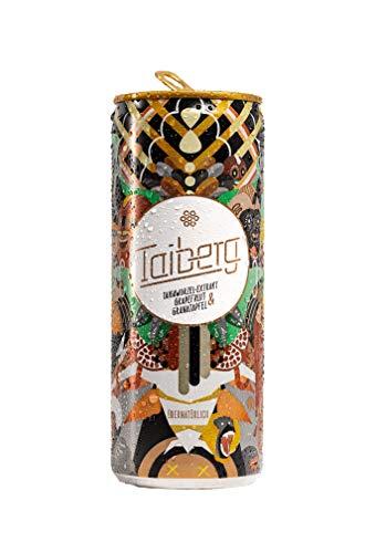 Taiberg - Koffeinhaltiges Dosen Erfrischungsgetränk, Grapefriut & Granatapfel, Vegan, 24er Palette, Einweg (24x250ml) inkl. 6€ Pfand und inkl. MwSt