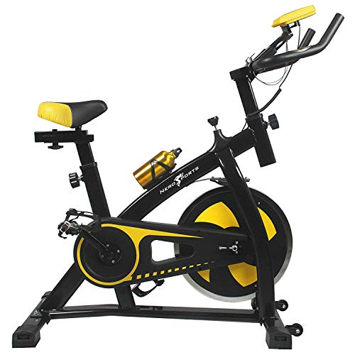 Nero-Sports-Upright-Exercise-Bike-Indoor-Studio-Cycles-Aerobic-Training-Fitness-Cardio-Bike