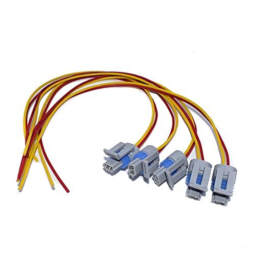 happy time ATT ATT ATS Sensor de Temperatura de Carga de Aire de admisión Sensor de Temperatura y Cable de Cable Ajuste para Chevrolet Fit para GMC Buick Cadillac Fit para Isuzu Pontiac