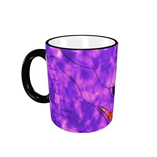 330ML Taza de cerámica Tazas de café N-A-R-U-T-O Taza de té Kurama para oficina y hogar, regalo divertido