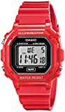 Casio Unisex F-108WHC-4ACF Classic Red Resin Band Watch